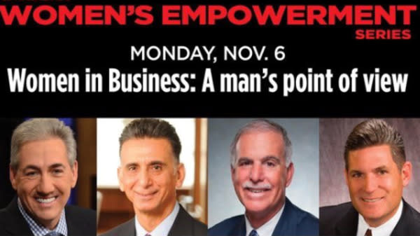 Someone Thought An All-Male Panel On 'Women's Empowerment' Was A Good Idea