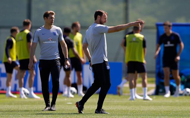 "The World Cup has arrived, England's World Cup 2018 squad have arrived in Russia - and Gareth Southgate has claimed it has been picked to excite the nation at this summer's tournament. Manager Southgate revealed his 23-man squad with Adam Lallana, who is on the standby list, the big-name omission. But Southgate believes, with the likes of Harry Kane, Raheem Sterling, Dele Alli and Ruben Loftus-Cheek, his young England squad offers plenty of encouragement. ""I believe this is a squad which we can be excited about,"" said Southgate. ""We have a lot of energy and athleticism in the team, but players that are equally comfortable in possession of the ball and I think people can see the style of play we've been looking to develop. ""It is a young group, but with some really important senior players so I feel the balance of the squad is good, both in terms of its experience, its character and also the positional balance."" Dreamt of going to a World Cup since I was a kid. Today that dream come true, an honour to represent the 3 Lions this summer! �� @Englandpic.twitter.com/e6c8agtVar— Trent Arnold (@trentaa98) May 16, 2018 As revealed by Telegraph Sport earlier today, Gary Cahill is part of the squad and Liverpool teenager Trent Alexander-Arnold has also been called up, despite being uncapped at senior level. Who made England's 23-man squad? Here's who will feature in England's World Cup squad: Goalkeepers: Jack Butland (Stoke), Jordan Pickford (Everton), Nick Pope (Burnley). Defenders: Trent Alexander-Arnold (Liverpool), Gary Cahill (Chelsea), Fabian Delph (Manchester City), Phil Jones (Manchester United), Harry Maguire (Leicester), Danny Rose (Tottenham Hotspur), John Stones (Manchester City), Kieran Trippier (Tottenham Hotspur), Kyle Walker (Manchester City), Ashley Young (Manchester United). Midfielders: Dele Alli (Tottenham Hotspur), Eric Dier (Tottenham Hotspur), Jordan Henderson (Liverpool), Jesse Lingard (Manchester United), Ruben Loftus-Cheek (Chelsea). Forwards: Harry Kane (Tottenham), Marcus Rashford (Manchester United), Raheem Sterling (Manchester City), Jamie Vardy (Leicester), Danny Welbeck (Arsenal). Standby: Lewis Cook (Bournemouth), Tom Heaton (Burnley), Adam Lallana (Liverpool), Jake Livermore (West Brom), James Tarkowski (Burnley). Gareth Southgate decided to leave Joe Hart and Jack Wilshere at home and has picked a squad heavily-loaded with defenders, reflective of his desire to play with three centre-backs and wing-backs. Trent-Alexander-Arnold could win his first England in Russia while the inclusion of Ruben Loftus-Cheek also speaks to Southgate's bold approach. Harry Kane will captain the side. Who is in your starting team? England Formation Builder Who is in England's group? England are in Group G alongside Belgium, Tunisia and Panama. Belgium: One of the favourites for the competition with a dazzling array of talent. England will be familiar with most of their key players: Thibuat Courtois, Vincent Kompany, Toby Alderweireld, Jan Vertonghen, Kevin De Bruyne and Romelu Lukaku among others, all play in the Premier League. England's toughest opponent by a distance. Tunisia: Potentially tricky opposition who will look to frustrate England. Were unbeaten in qualifying and Sunderland winger Wahbi Khazri could be a danger man. Nevertheless, a team England should beat if they have aspirations to reach the latter stages. Panama: One of the stories of the tournament, having qualified for the finals for the first time in dramatic fashion. England will be heavy favorites to swat them aside. When do England play? Monday June 18 Tunisia vs England (Volgograd), 7pm BST. Sunday June 24 England vs Panama (Nizhny Novgorod), 1pm BST. Thursday June 28 England vs Belgium (Kaliningrad), 7pm BST. Should England progress from their group, their last-16 match will be on Monday July 2 (if they win the group) or Tuesday July 2 (if they finish runners-up in the group). Should England progress beyond that stage, their quarter-final will either be: Friday 6 July Winner match 53 vs Winner match 54 - Kazan, 7pm BST. OR Saturday 7 July Winner match 55 vs Winner match 56 - Samara, 3pm BST. World Cup 2018 