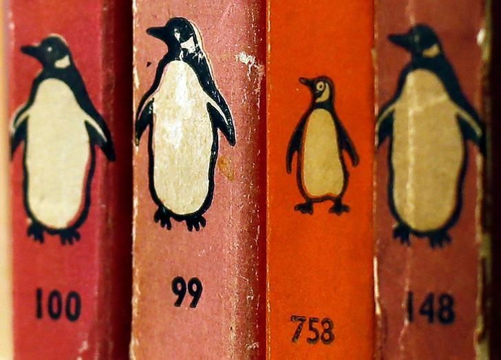 FILE PHOTO: Penguin books are seen in a bookshop in central London