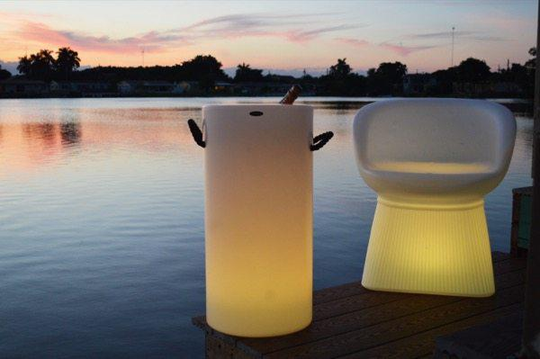 """<p>For the bubbly fans in your circle, consider this cordless and rechargeable white opaque polyethylene tall Champagne bucket that not only keeps your bottle cold but lights up the night thanks to an RGB LED module in the base.</p> <p><strong><em>Buy Now</em></strong><em>: Bottela LED Champagne Bucket by Artkalia, $358, </em><a href=""""https://www.ylighting.com/bottela-led-champagne-bucket-by-artkalia-uu577108.html#cgid=%0AYLTB30%0A&start=24&sz=24&tileIndex=2"""" rel=""""nofollow noopener"""" target=""""_blank"""" data-ylk=""""slk:ylighting.com"""" class=""""link rapid-noclick-resp""""><em>ylighting.com</em></a>.</p>"""