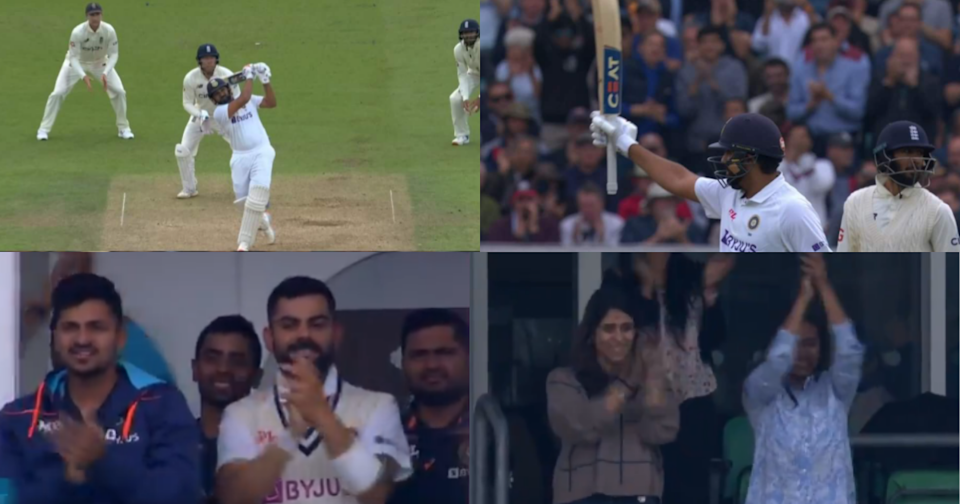 Rohit Sharma Gets To His Century With A 6, Virat Kohli Rises And Applauds