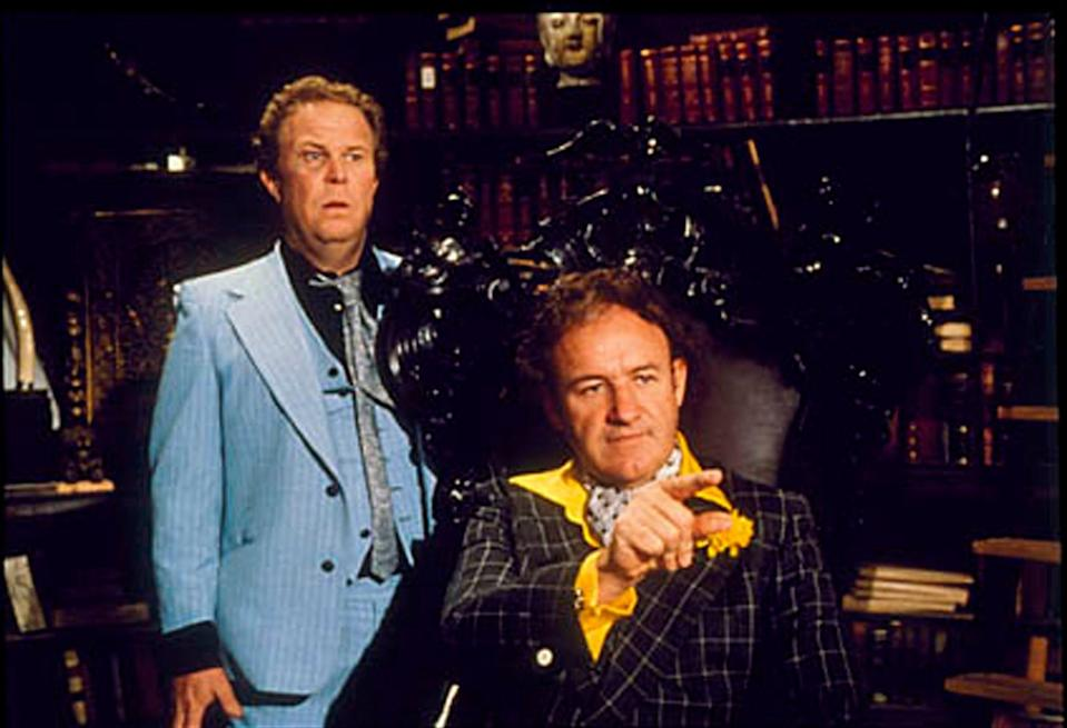 """Ned Beatty as bumbling henchman Otis and Gene Hackman as Lex Luthor starred in 1978's """"Superman."""""""