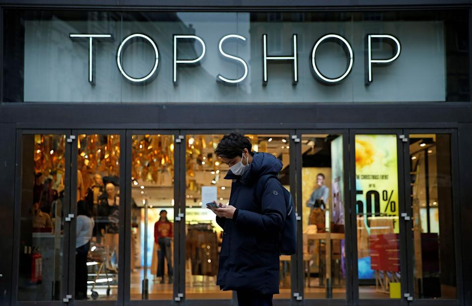 <p>Topshop among Arcadia brands looking for buyer</p>AFP via Getty