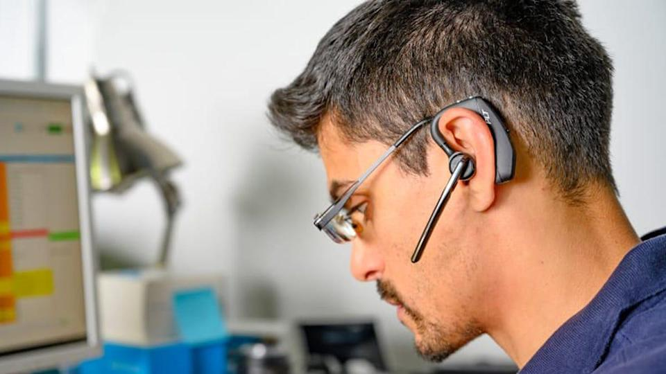 The Plantronics Voyager 5200 impressed us with its outstanding sound quality and customization options.