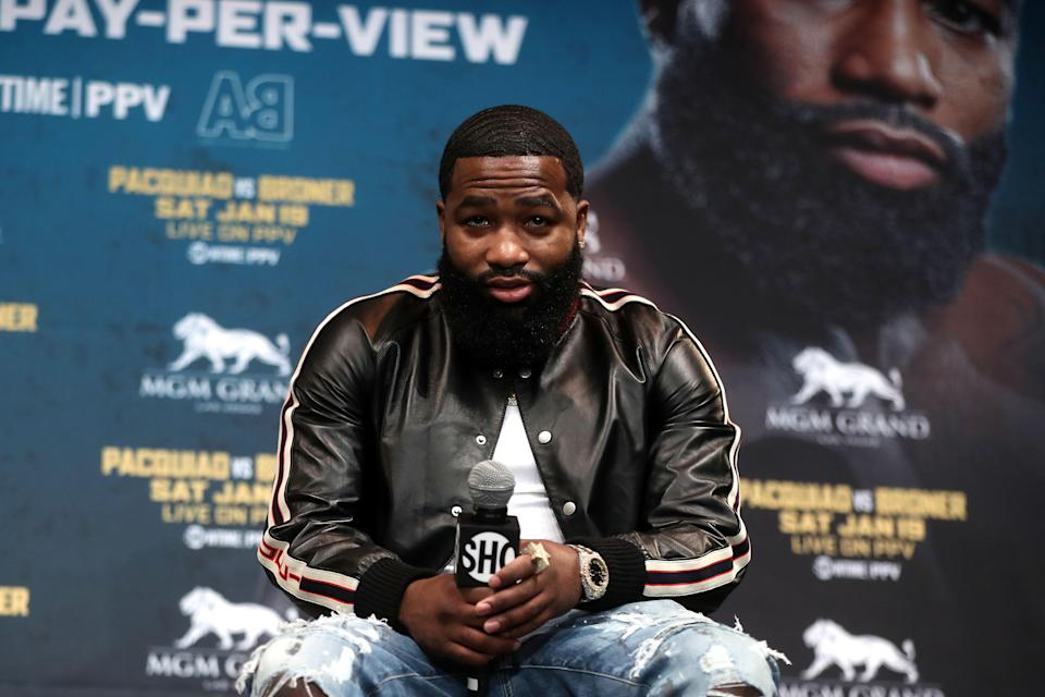 Adrien Broner has two court dates in two different states scheduled for the exact same time. (Atilgan Ozdil/Anadolu Agency/Getty Images)