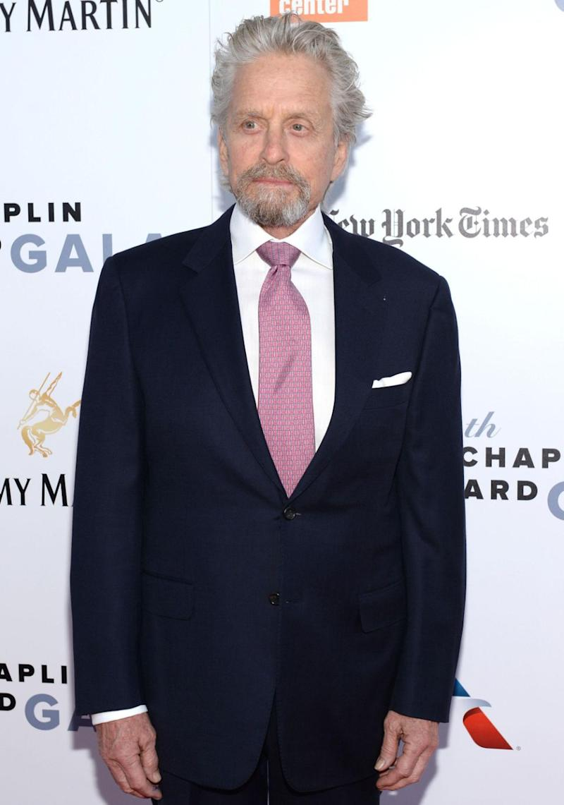 Douglas has denied that he exposed himself and masturbated in front of a former female employee, and has volunteered details of the alleged incident, which he has called 'a complete lie'. The actor pictured here in May 2017. Source: Getty