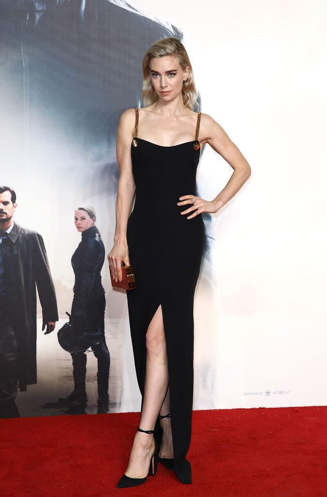 <p>On 13 July, Vanessa Kirby attended the UK premiere of 'Mission: Impossible – Fallout' in a thigh-split dress. <em>[Photo: Getty]</em> </p>