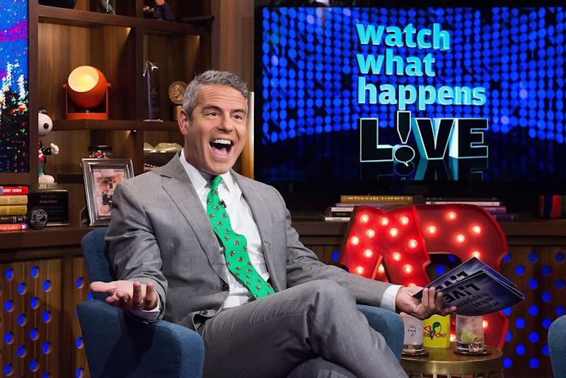 Andy Cohen | Charles Sykes/Bravo/NBCU Photo Bank via Getty