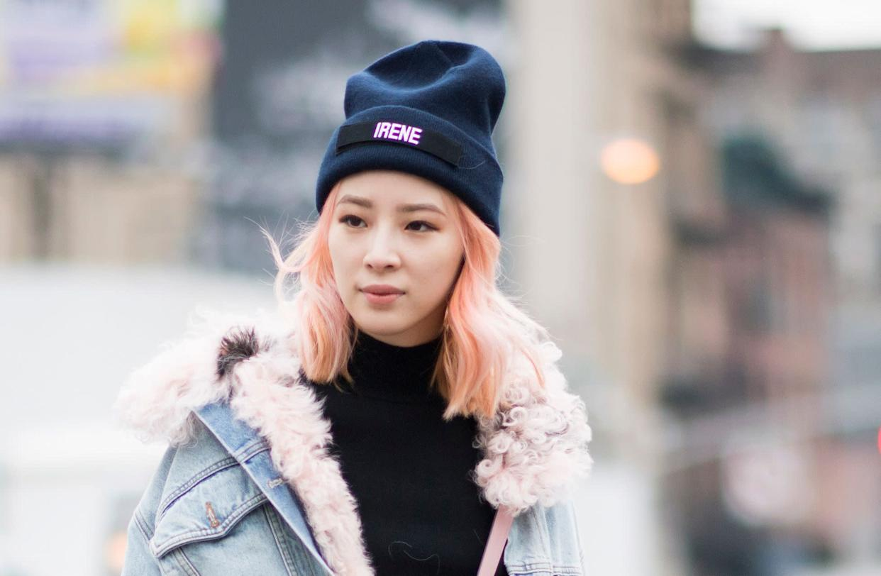 Hats are a winter go-to, but they've been said to be damaging to hair. (Photo: Timur Emek via Getty Images)