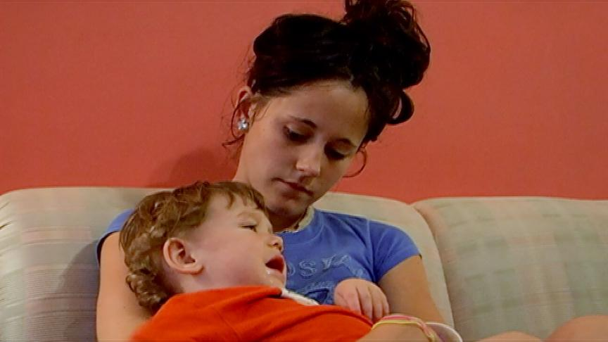 "<b>Jenelle Evans: Then<br><br></b>Some people settle into motherhood more easily than others, and for a teen girl who likes to party, the new responsibilities can be especially daunting. Such was the case for ""Teen Mom 2's"" Jenelle Evans. The fact that her son Jace's dad on record, Andrew Lewis, wasn't a part of their lives put more pressure on her. Compounding the stress was her boyfriend Kieffer Delp, who not only didn't help her lead the straight and narrow, but also got arrested with her. It all just added fuel to her mom Barbara's fire in an ongoing custody battle over Jace."