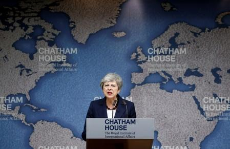 Criticising populism, May has Brexit advice for successor