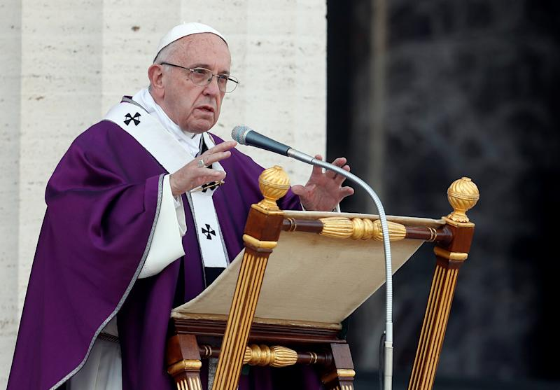 pope requests roman catholic priests be given right to marry