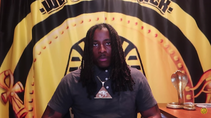 <p>Young Pharaoh has scheduled an event on Wednesday to reveal the reason behind his ouster from CPAC's 2021 event </p> (Screengrab/You Tube)
