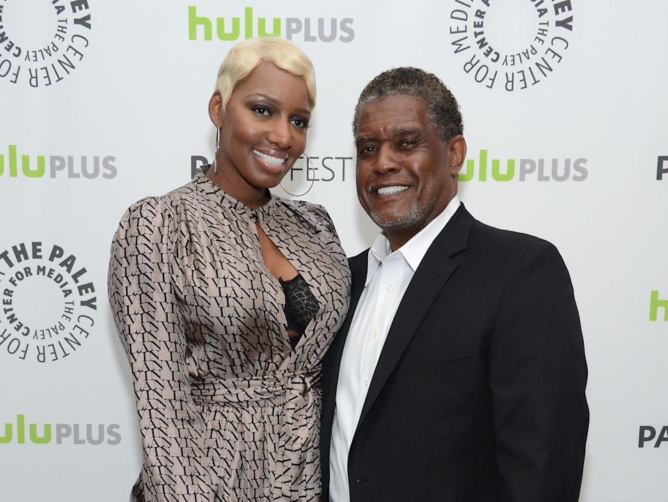 """NeNe Leakes revealed her husband Gregg Leakes is battling stage 3 colon cancer on the """"Real Housewives of Atlanta"""" Season 11 premiere."""