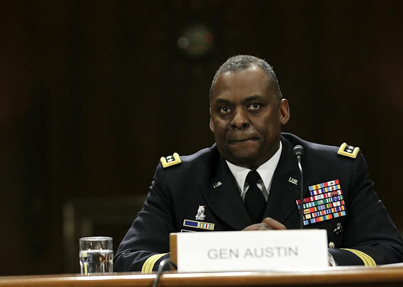 US Commander General Lloyd Austin testifies during a hearing before the Senate Armed Services Committee February 3, 2011 on Capitol Hill in Washington, DC