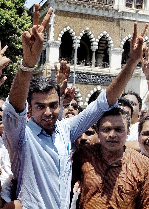 """<p class=""""MsoNormal""""><b>Milind Deora: </b>Milind Deora a member of Lok Sabha representing the Mumbai South constituency, serves as Minister of State for Information Technology and Communications and with the Ministry of Shipping as well. He holds a degree in Business and Political Science from Boston University, and is known as for his skills as a debater and a blues guitarist, as well as his enthusiasm for squash and swimming. His wardrobe reflects an easy confidence, and he carries off a pair of denims as effortlessly as he does a formal suit, complete with tie and pocket square.</p>"""