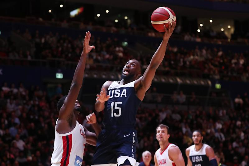 Order restored: US beats Canada in pre-World Cup basketball