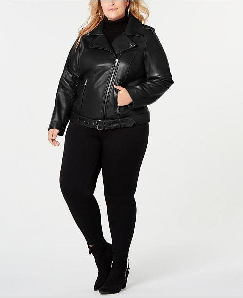 "<p>This <a href=""https://www.popsugar.com/buy/Michael-Kors-Plus-Size-Asymmetrical-Belted-Leather-Jacket-492515?p_name=Michael%20Kors%20Plus%20Size%20Asymmetrical%20Belted%20Leather%20Jacket&retailer=macys.com&pid=492515&price=465&evar1=fab%3Aus&evar9=46641921&evar98=https%3A%2F%2Fwww.popsugar.com%2Ffashion%2Fphoto-gallery%2F46641921%2Fimage%2F46641923%2FMichael-Kors-Plus-Size-Asymmetrical-Belted-Leather-Jacket&list1=shopping%2Cfall%20fashion%2Cfall%2Ccurve%2Cmacys%2Ccurve%20fashion&prop13=mobile&pdata=1"" rel=""nofollow"" data-shoppable-link=""1"" target=""_blank"" class=""ga-track"" data-ga-category=""Related"" data-ga-label=""https://www.macys.com/shop/product/michael-michael-kors-plus-size-asymmetrical-belted-leather-jacket-created-for-macys?ID=8947862&amp;CategoryID=188853#fn=sp%3D1%26spc%3D6123%26ruleId%3D87%7CBOOST%20SAVED%20SET%7CBOOST%20ATTRIBUTE%26searchPass%3DmatchNone%26slotId%3D18"" data-ga-action=""In-Line Links"">Michael Kors Plus Size Asymmetrical Belted Leather Jacket</a> ($465, originally $520) should be a staple in everyone's closet.</p>"