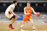 """<p>Eleventh seed Syracuse University defeated No. 6 seed San Diego State University in the first round of the tournament, securing a 78-62 victory. </p> <p>''We want to keep going, keep building off this,'' Syracuse player Buddy Boeheim said after the game, according to <a href=""""https://www.cbssports.com/college-basketball/gametracker/recap/NCAAB_20210319_CUSE@SDGST/"""" rel=""""nofollow noopener"""" target=""""_blank"""" data-ylk=""""slk:CBS Sports"""" class=""""link rapid-noclick-resp"""">CBS Sports</a>. ''We know there's still a long road ahead of us. It's a great feeling. We have a day tomorrow to get a practice in and we're right back Sunday.''</p>"""