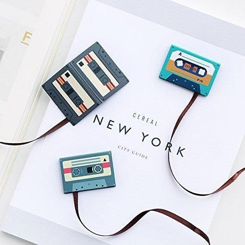 <p>We love these clever little <span>TanQiang Tape Bookmarks</span> ($9), which you'll get lots of use out of.</p>