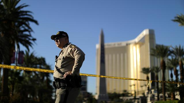 UPDATE: In a new timeline released on Monday, authorities clarified that Las Vegas gunman Stephen Paddock shot an unarmed security guard before his deadly rampage, not after it began.