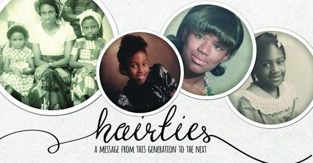 #HairTies is a new video series explores how black women view and wear their hair through generations. (Photo: Courtesy of Un-ruly)