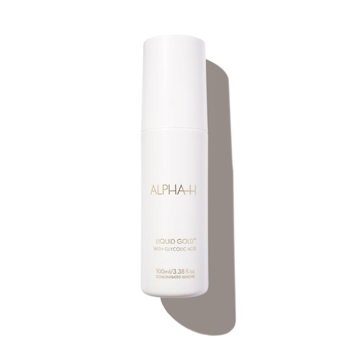 """Why you'll love it: This liquid (it has about the consistency of a toner) is spiked with 5 percent glycolic acid to dissolve dead skin cells, and licorice root extract to brighten. How you'll use it: Dispense a few drops of this leave-on treatment onto a cotton pad, and smooth it over your skin. One editor likes layering it under hydrating serums and creams (it's meant to be used every other day, at night, on clean skin; you don't have to layer anything over it). """"This acts like a reset button for my skin. Case in point: A particularly stubborn post-breakout dark spot finally faded after a week of using this exfoliator."""" — Sarah Han +Subscribe now+"""
