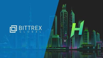 Bittrex and HedgeTrade (CNW Group/HedgeTrade)