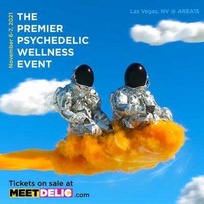 Meet DELIC: The Premiere Psychedelic Wellness Event, Nov 6-7, 2021 (CNW Group/Delic Holdings Inc.)