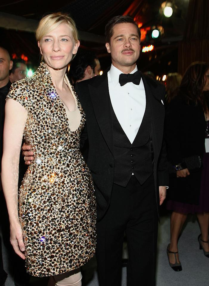 "<a href=""http://movies.yahoo.com/movie/contributor/1800018917"">Cate Blanchett</a> and <a href=""http://movies.yahoo.com/movie/contributor/1800018965"">Brad Pitt</a> at the Los Angeles premiere of <a href=""http://movies.yahoo.com/movie/1809785152/info"">The Curious Case of Benjamin Button</a> - 12/08/2008"
