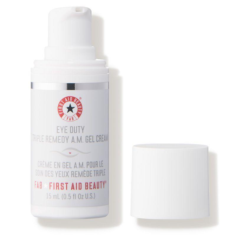 """<p><strong>First Aid Beauty</strong></p><p>dermstore.com</p><p><strong>$36.00</strong></p><p><a href=""""https://fave.co/3pvfJbO"""" rel=""""nofollow noopener"""" target=""""_blank"""" data-ylk=""""slk:SHOP NOW"""" class=""""link rapid-noclick-resp"""">SHOP NOW</a></p><p>Your dad probably has a couple untouched first aid kits he's stashed all over the house, but this eye cream from First Aid Beauty will definitely get used.</p>"""