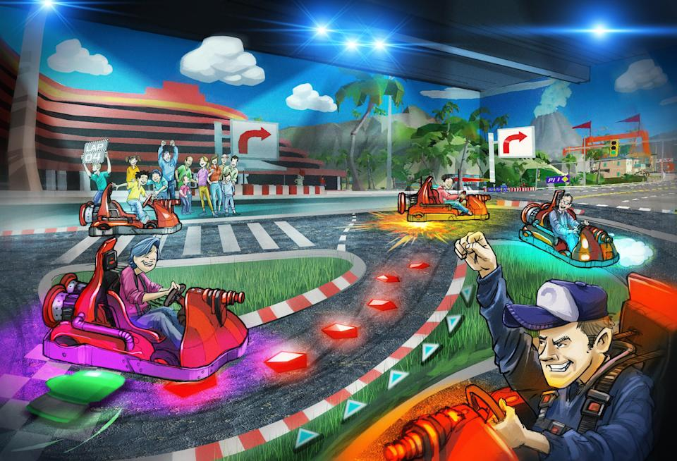 <p>Start your engines: the VR technology will recreate the feeling of being in a video game</p> (Chaos Karts)