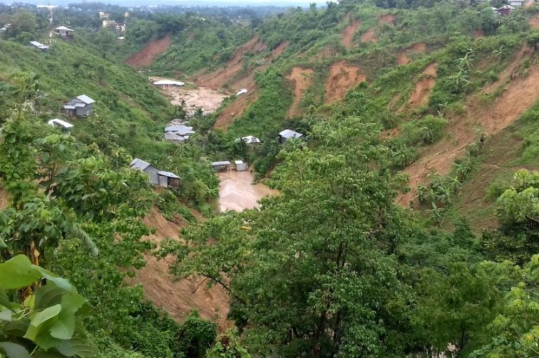 Heavy monsoon rains have fuelled Bangladesh's deadline landslides