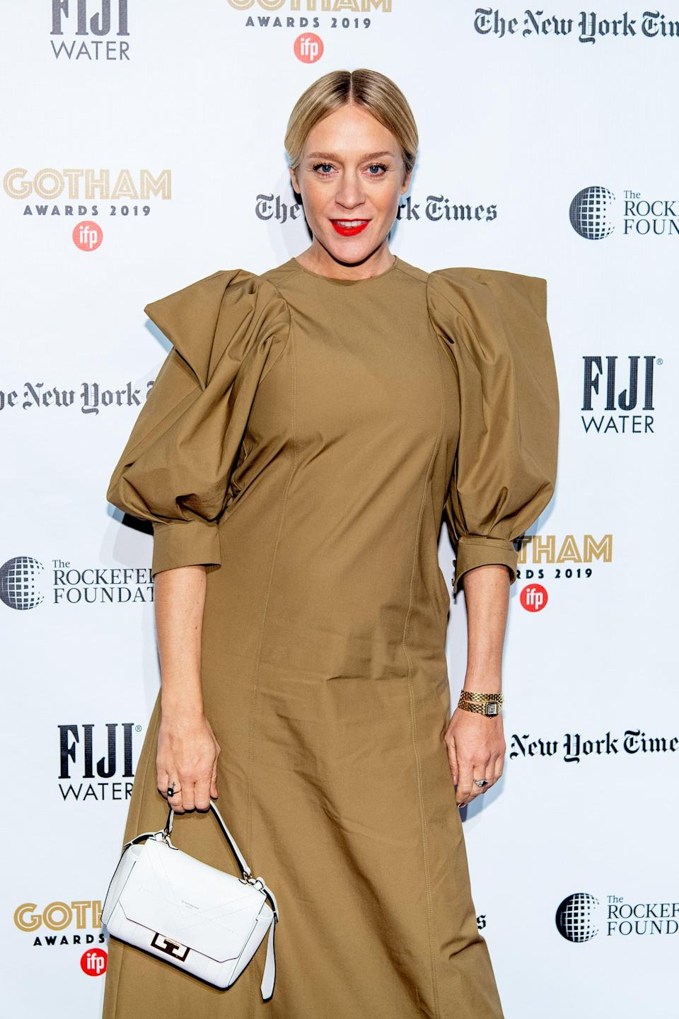 "<p><a href=""https://people.com/parents/chloe-sevigny-pregnant-expecting-first-child-boyfriend-sinisa-mackovic/"" class=""link rapid-noclick-resp"" rel=""nofollow noopener"" target=""_blank"" data-ylk=""slk:The actress is pregnant"">The actress is pregnant</a> with her first child! <strong>Chloë</strong>'s rep confirmed the exciting news to <strong>People</strong> in January. The couple has been dating for over a year. </p>"