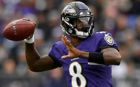Lamar Jackson - The 10 biggest takeaways from NFL week 11: Ravens make emphatic statement and 49ers edge Cardinals in thriller - Credit: AP