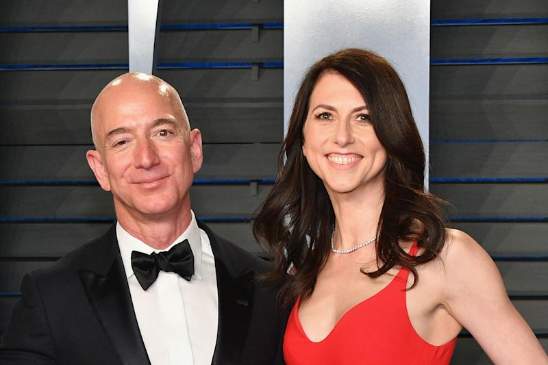 Jeff & MacKenzie Bezos Finalize Divorce & She's Getting a LOT of Money