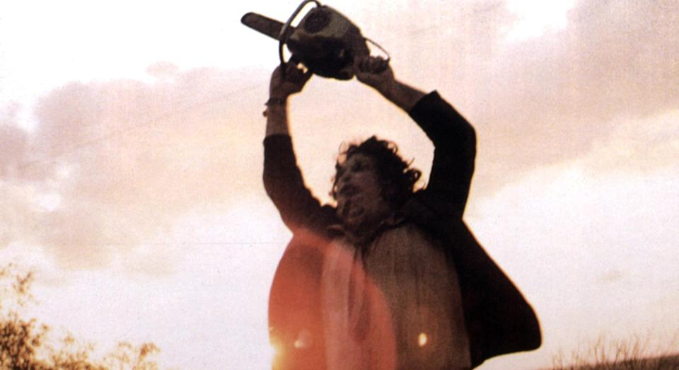 Leatherface in the Texas Chainsaw Massacre
