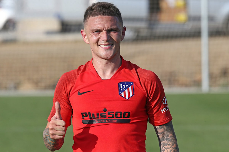 Atletico Madrid Sign England Right-back Kieran Trippier From Tottenham Hotspur
