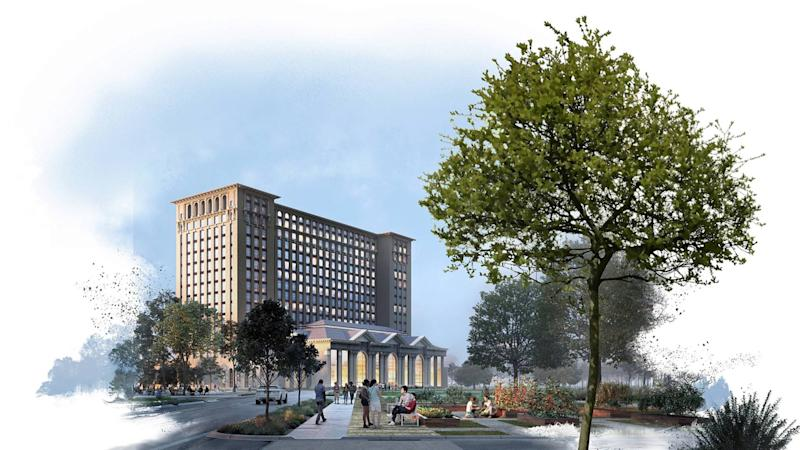 Michigan Central Station Ford Rendering