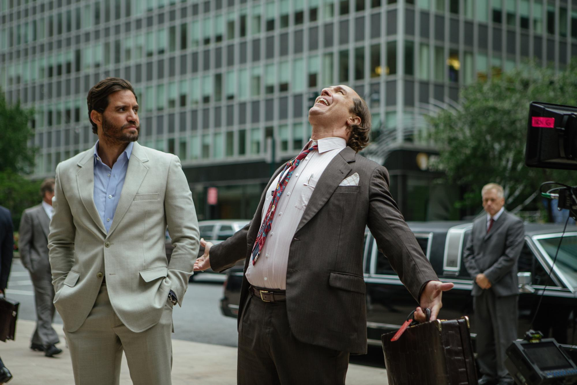 Edgar Ramirez and Matthew McConaughey strike it lucky in 'Gold' (Credit: Studiocanal)