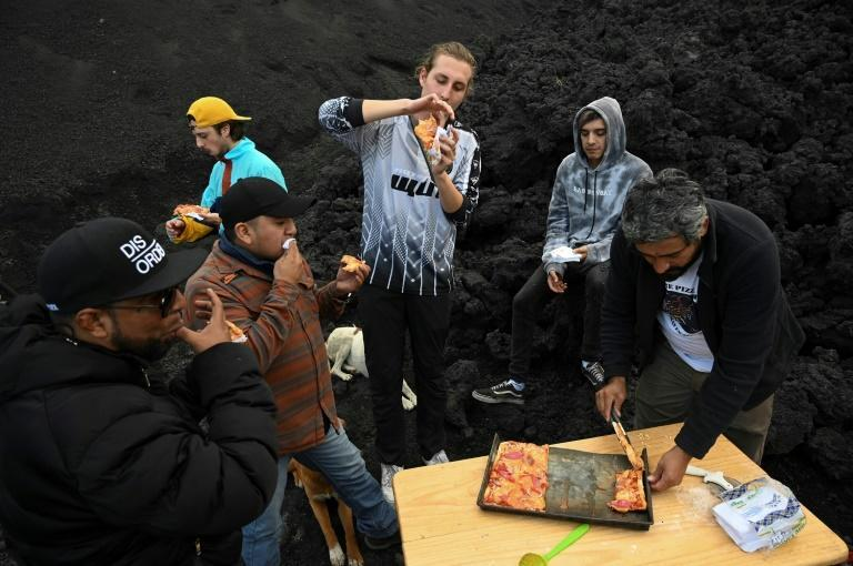 David García's Pacaya Pizza has become a magnet for adventurous tourists that work up an appetite climbing one of Guatemala's three active volcanos