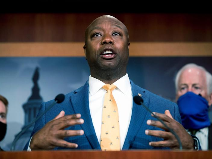 The Two People who Molded GOP Senator Tim Scott from Flunking High School Misfit to a Republican Star: the Single Mother who Told him 'you Can't Always Fit In' and the Chick-fil-A Manager who Taught him a Quality Education is About the 'Closest Thing to Magic in America'