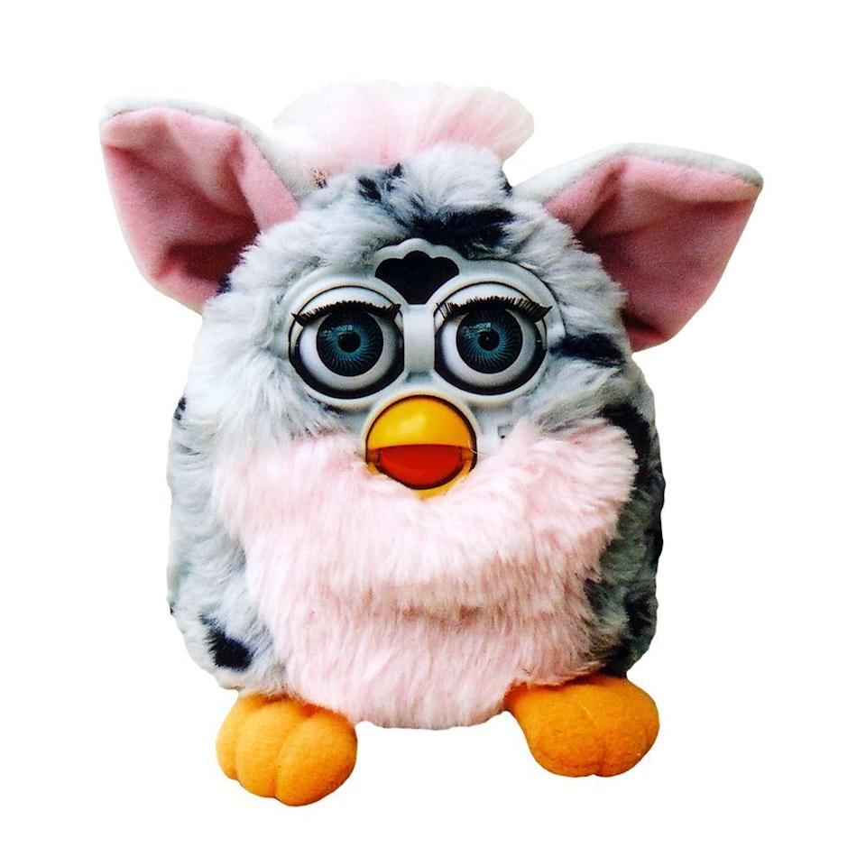"<p><a class=""link rapid-noclick-resp"" href=""https://www.amazon.com/Hasbro-Furby-Connect-Friend-Purple/dp/B01EARLUBG/ref=sr_1_1?tag=syn-yahoo-20&ascsubtag=%5Bartid%7C10063.g.34738490%5Bsrc%7Cyahoo-us"" rel=""nofollow noopener"" target=""_blank"" data-ylk=""slk:BUY NOW"">BUY NOW</a><br></p><p>Kids and adults were going crazy for Furbies in 1998. The little gremlin-like furry creatures that said phrases like ""feed me"" and ""I love you"" came in different colors. In the first 3 years of hitting stores, they sold more than 40 million worldwide. There were two different relaunches of the Furby, one in 2005 and one in 2012, but neither were quite as successful as the original release.</p>"