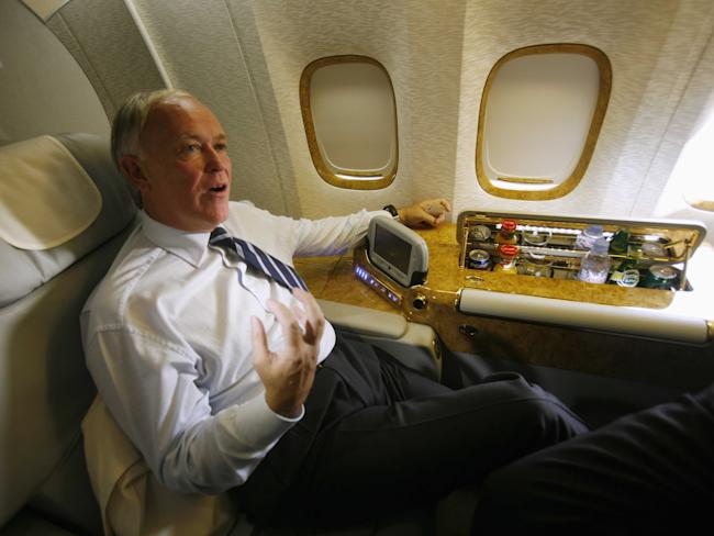 Emirates Airlines CEO Sir Tim Clarke
