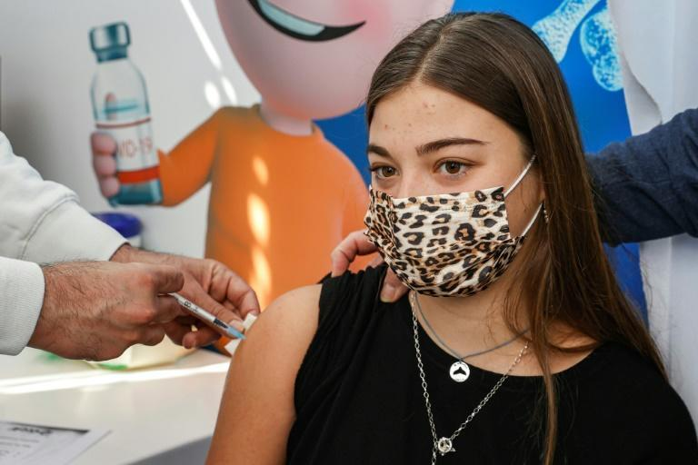 On Saturday, Israel began vaccinating teens aged 16-18, who need to sit final high school exams