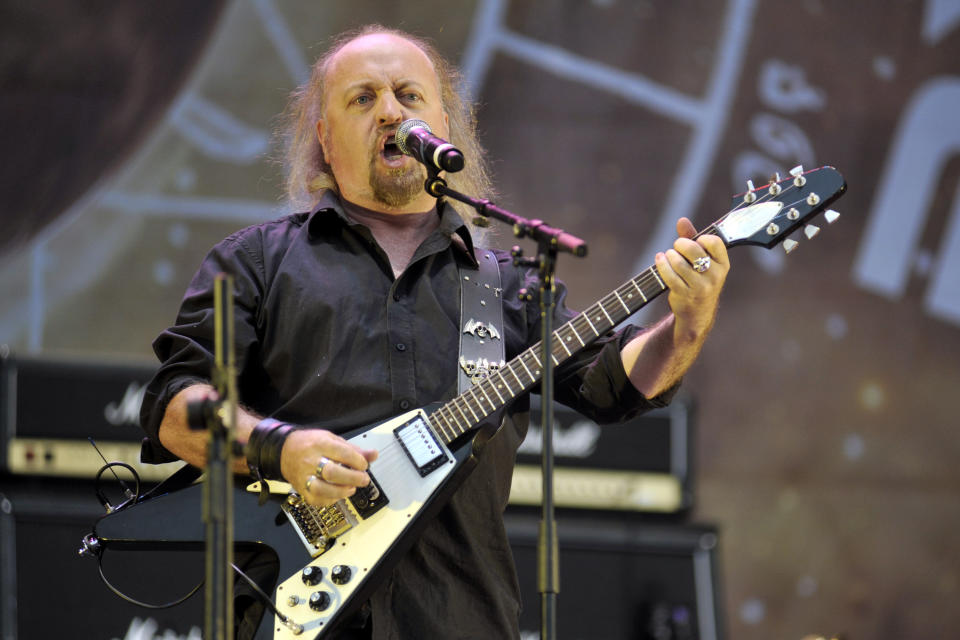 UNITED KINGDOM - JULY 10: Bill Bailey performing live on stage at Sonisphere Festival on July 10, 2011. (Photo by Kevin Nixon/Metal Hammer Magazine/Future via Getty Images/Team Rock via Getty Images)
