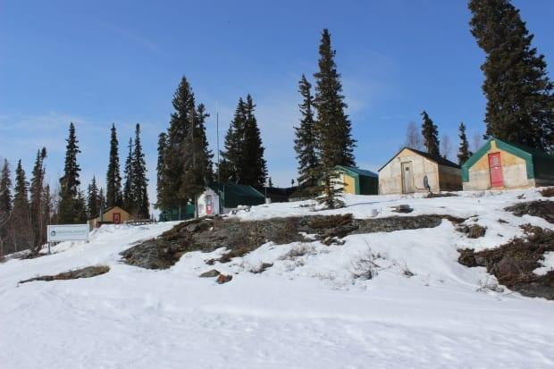 Crews working at the Nechalacho mine project live in these cabins, right next to Thor Lake in N.W.T.