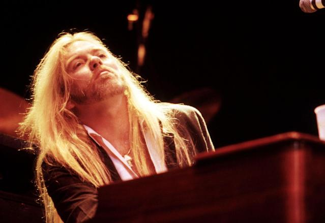 <p>Gregg Allman in the 1980s. (Gary Gershoff/MediaPunch/IPX/AP) </p>