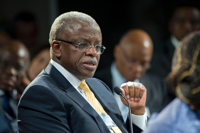 Uganda's Democratic Alliance (TDA) has been expected to select ex-prime minister Amama Mbabazi (pictured) or Kizza Besigye, leader of the Forum for Democratic Change (FDC), as its joint presidential candidate (AFP Photo/Rodger Bosch)