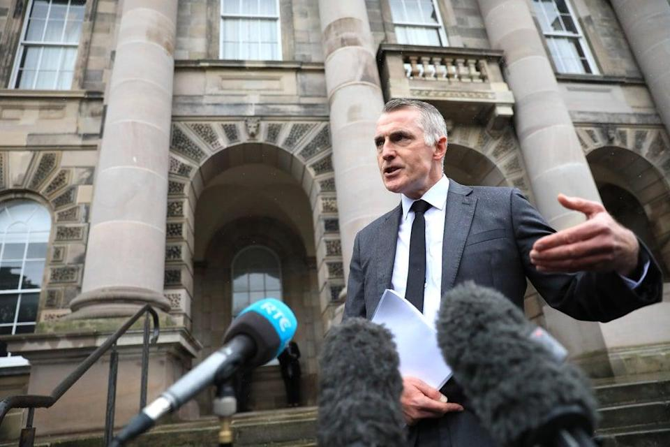Sinn Fein junior minister Declan Kearney said Northern Ireland cannot go back to 'majoritarianism' (Peter Morrison/PA) (PA Wire)